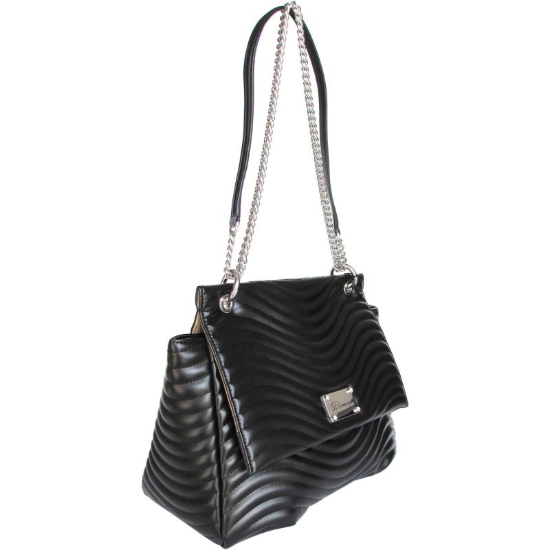 d098a7eba4c9 Blumarine сумка на плечо из черной стеганой кожи. Бренд: Blumarine