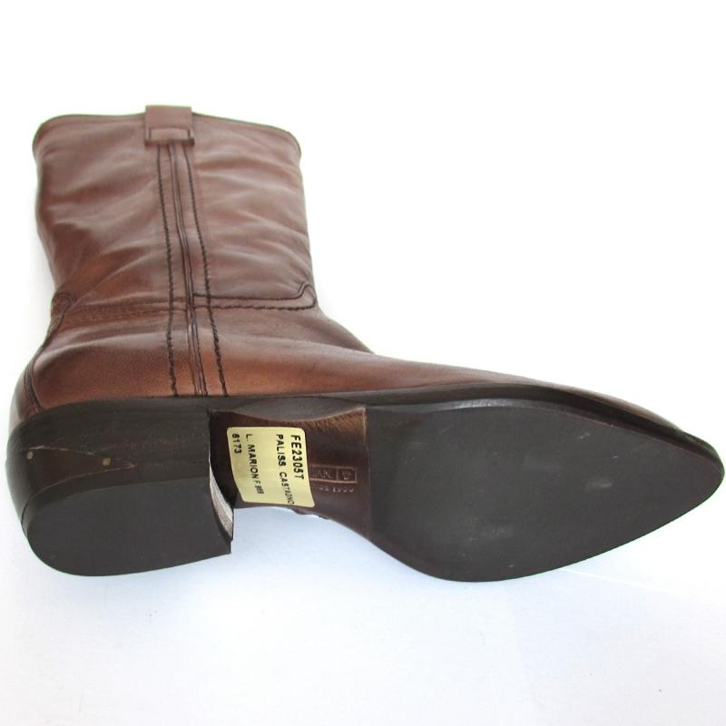 new product 154fa 94e12 Alberto Fermani stivali Country in vera pelle realizzati a ...