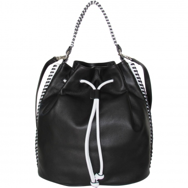 blanco - negro 027297 bags with removable shoulder strap