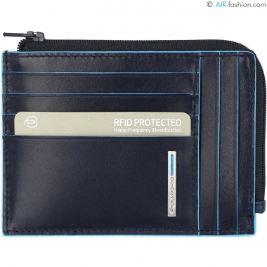 PIQUADRO PU1243B2R/BLU2 wallets
