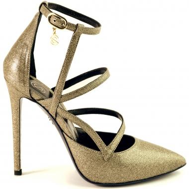 Cosmina Suçiu NEF18BR05TRGOLD pumps and heels