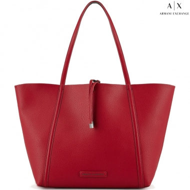 Armani Exchange 942034-CC703-Red-Graphite bolsos de hombro con asas largas