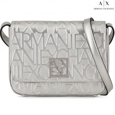 Armani Exchange 942648-CC794-SILVER shoulder bags & crossbodies