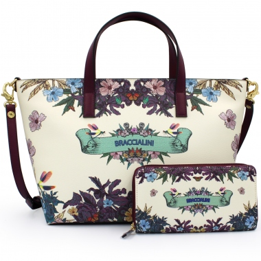Braccialini B13275-B13278 bags with removable shoulder strap